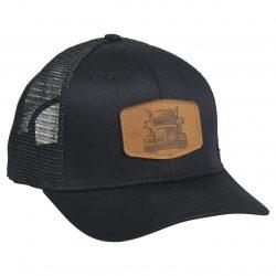 Big Rig Trucker Black/Black