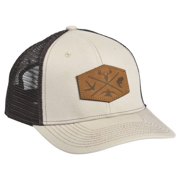 Outdoor Leather Patch Tan/Brown