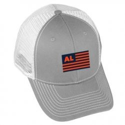 USA Flag - AL2 - Grey/White