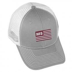 USA Flag - MS2 - Grey/White