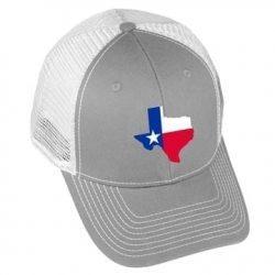 USA Flag - TX2 - Grey/White