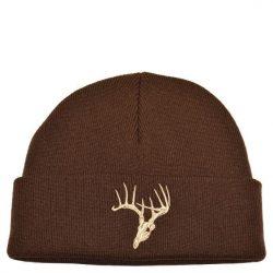 Deer Skull Knit Brown