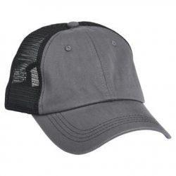 615 Mesh Snapback Hat Charcoal/Black