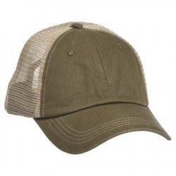615 Mesh Snapback Hat OB/Khaki