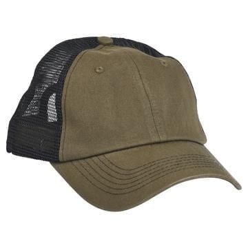 615 Mesh Snapback Hat Moss Green/Black