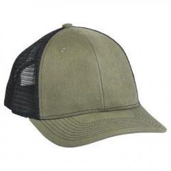 901 Mesh Snapback Hat OD Brown/Black