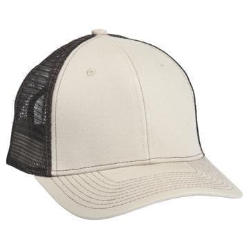 901 Mesh Snapback Hat OD Tan/Brown