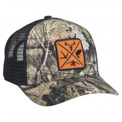 Mossy Oak Outdoor Series Woven Patch Break Up Country/Black Mesh